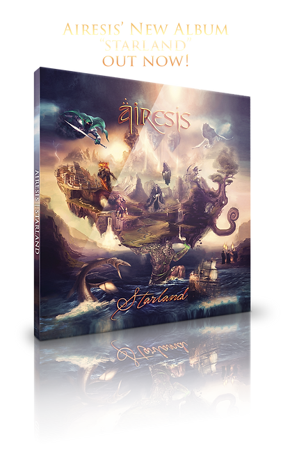 Airesis Starland album cover