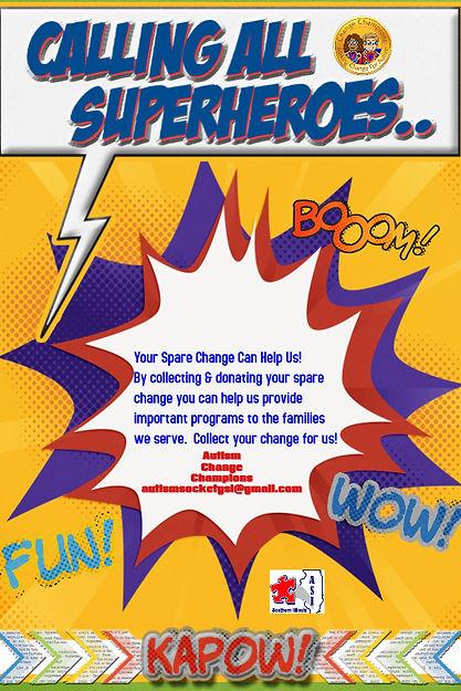 Copy of Superhero Party Event Invitation