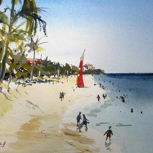 The Beach at Varadero