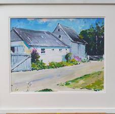 Barns at Buckland - Acrylic