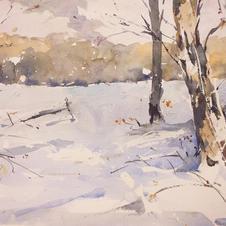 Snow, Walton Heath