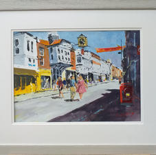 Sunny Day, Guildford  - Acrylic