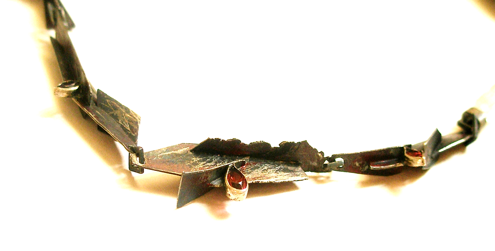 "Necklace ""In Leaves"""