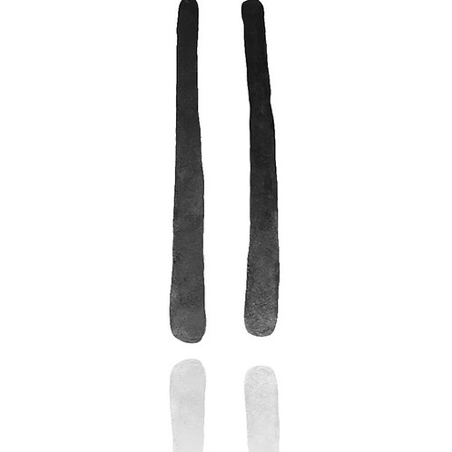 Long Stainless Steel Earrings