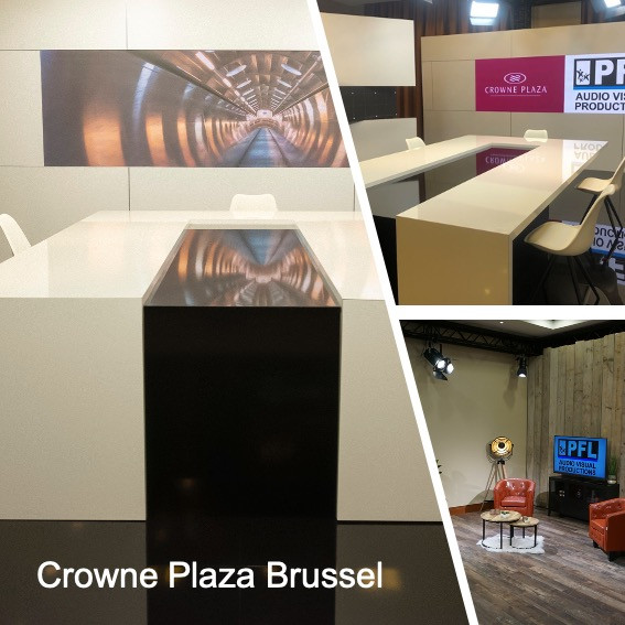 Crowne Plaza Brussels Studio Tour