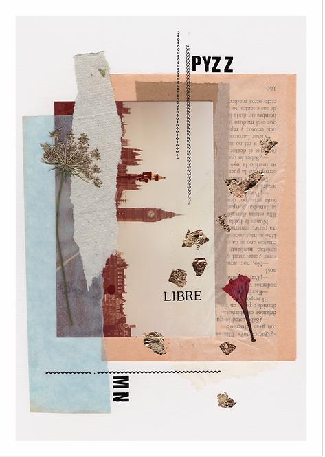 "Collage ""Libre"" / GRANDE"