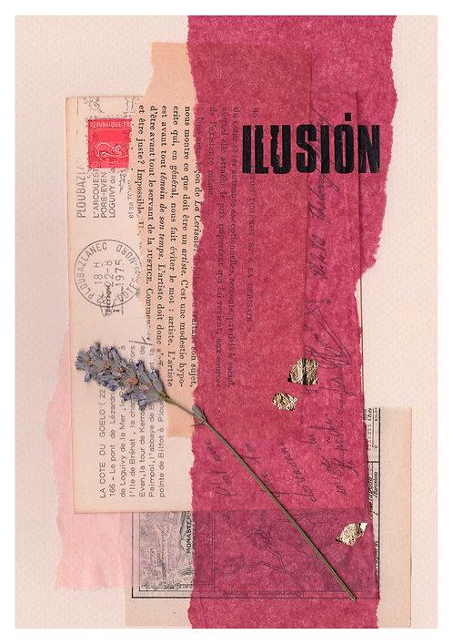Print Collage PALABRAS / Ilusión