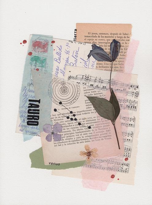 Print Collage ZODIACO / Tauro
