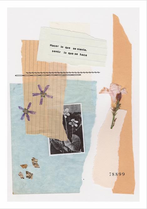 "Collage ""Hacer"" / PEQUEÑO"