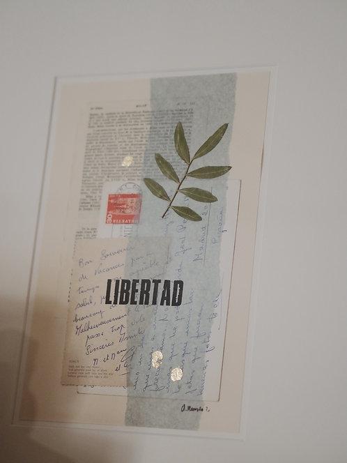 """OBRA ORIGINAL """"Libertad"""""""