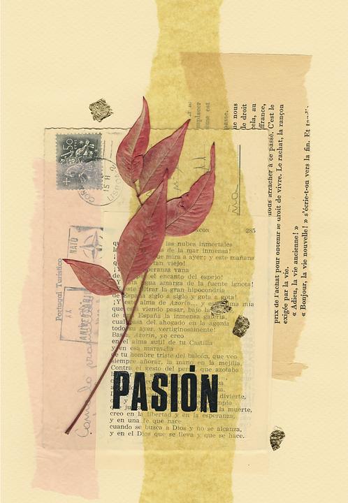 Print Collage PALABRAS / Pasión