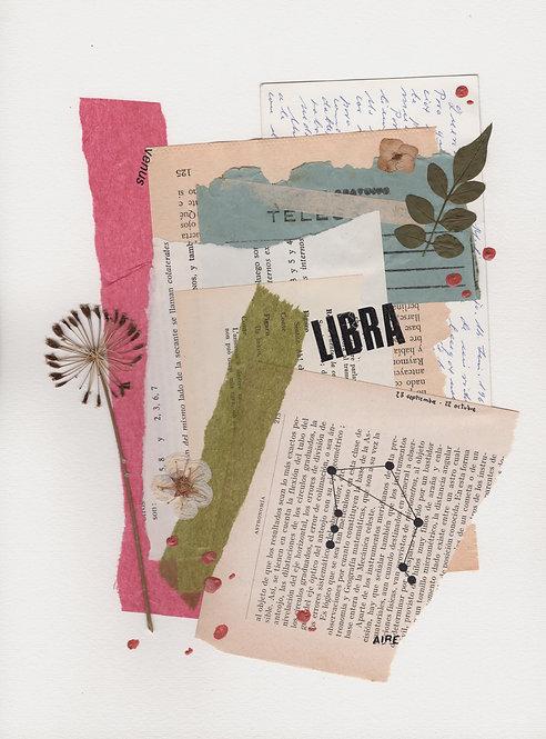Print Collage ZODIACO / Libra