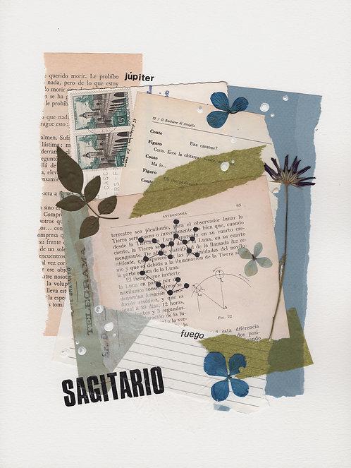 Print Collage ZODIACO / Sagitario