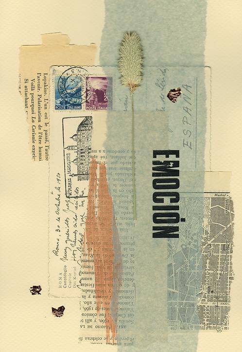 Print Collage PALABRAS / Emoción