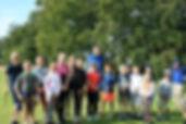 CGS Junior Golfers with David Snodgrass