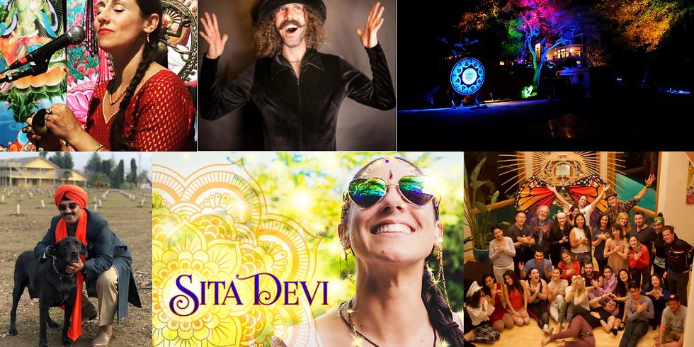 Sharing Presence for Paradise: Ecstatic Dance, Yoga, & Kirtan w/ Sita Devi, Ram, & TablaDude