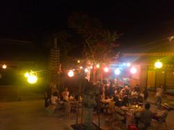 法泉寺の夜