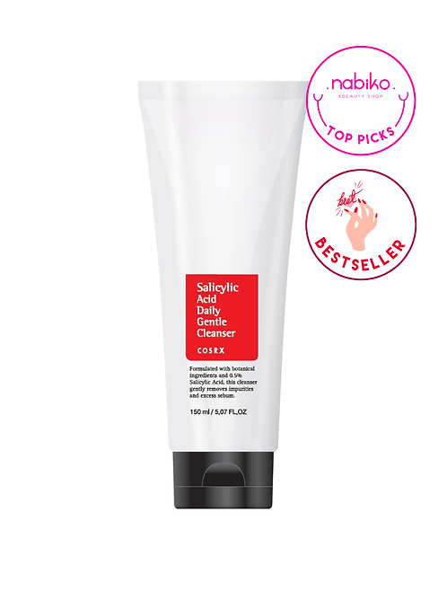 Cosrx: Salicylic Acid Daily Gentle Cleanser