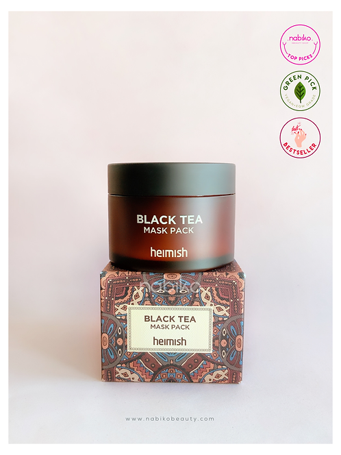 Heimish: Black Tea Mask Pack