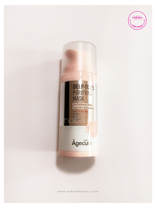 Neogen: Agecure Deep Tok's Purifying Mask