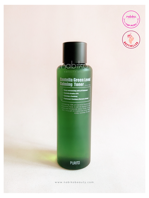 Purito: Centella Green Level Calming Toner