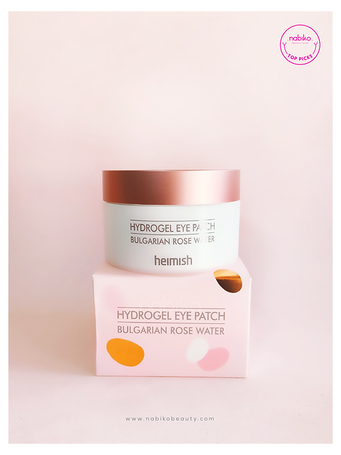 Heimish: Bulgarian Rose Hydrogel Eye Patch