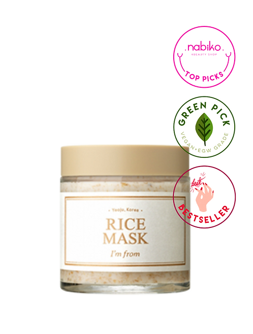 Im From: Rice Mask