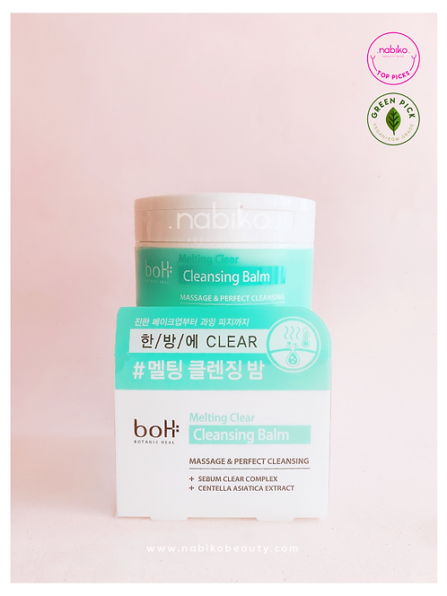 Boh: Melting Clear Cleansing Balm