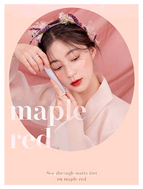 Rom&nd: Hanbok See-Through Matte Tint #9 Maple Red