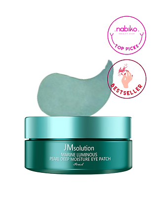 JM Solution: Marine Luminous Pearl Eye Gel Patch