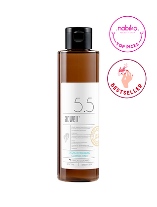 Acwell: Licorice pH 5.5 Balancing Toner