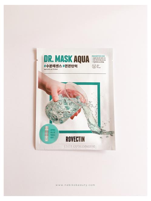 Rovectin: Dr. Mask Aqua Sheetmask