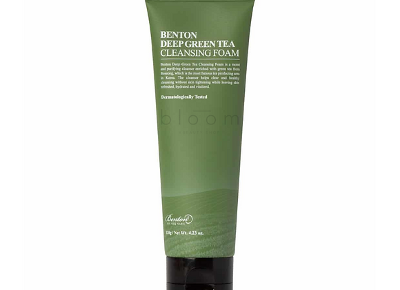 Benton: Deep Green Tea Cleansing Foam