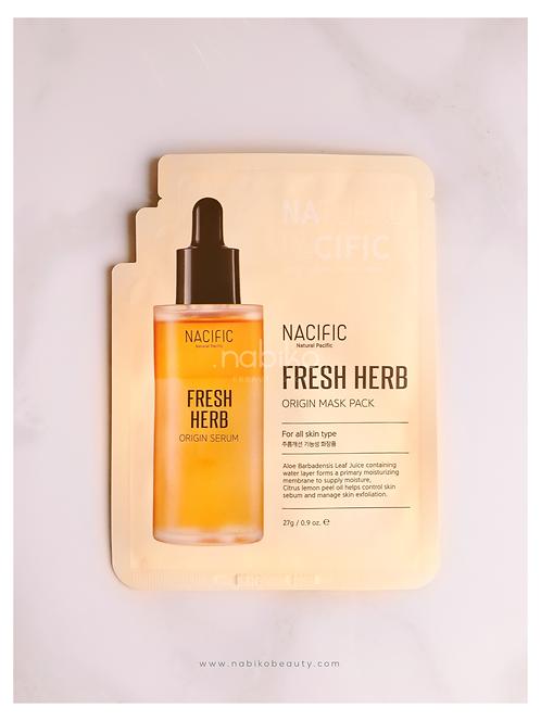 Nacific: Fresh Herb Origin Mask