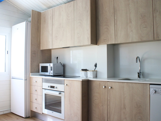 kitchen bungalow camping mar menor
