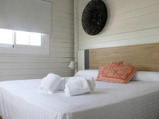 habitacion doble bungalow camping mar menor
