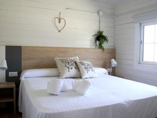 habitacion matrimonio bungalow camping mar menor