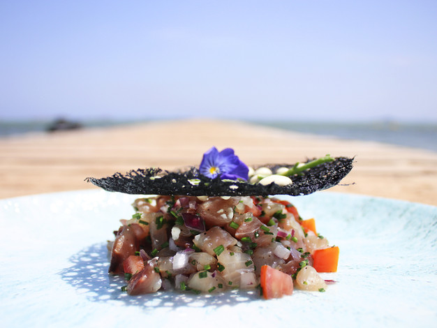 tartar lecha restaurante playa