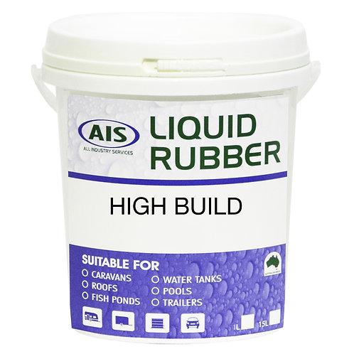 1L Liquid Rubber High Build, (Black or Grey)
