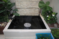Small pond after Liquid RUbber Dry