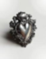 Sara Spolverini, cuore ex voto, ex voto collection, ex voto jewels, anello cuore, ex voto gioielli, cuore sacro, madonna, gioielli con cuori