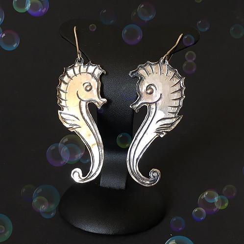 Orecchini cavalluccio marino