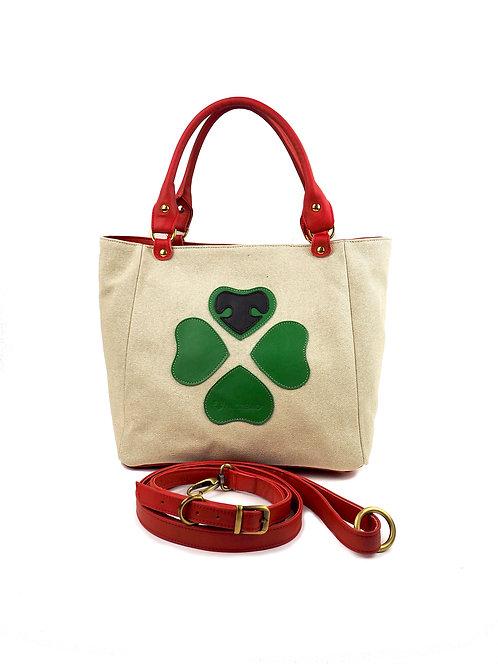 AMOREMIO® Lucky tote bag + guinzaglio M/L