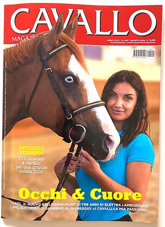 AMOREMIO, cavallo magazine, elettra lamb