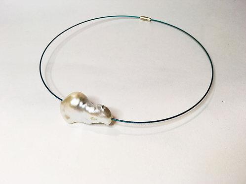 Mermaid - collana con grande perla