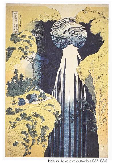 La Cascata di Amida di Hokusai