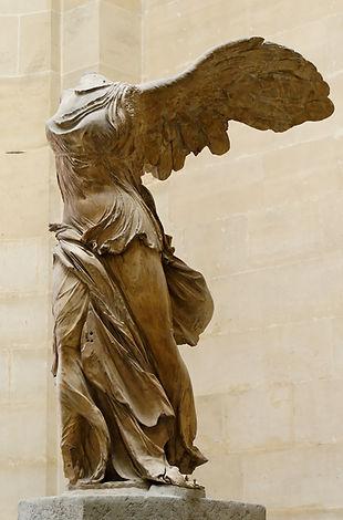 Nike di Samotracia, Nike, Victory of Samothrace, Louvre Museum, Parigi