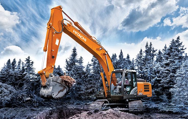 Hitachi ZX210LC-6 excavators