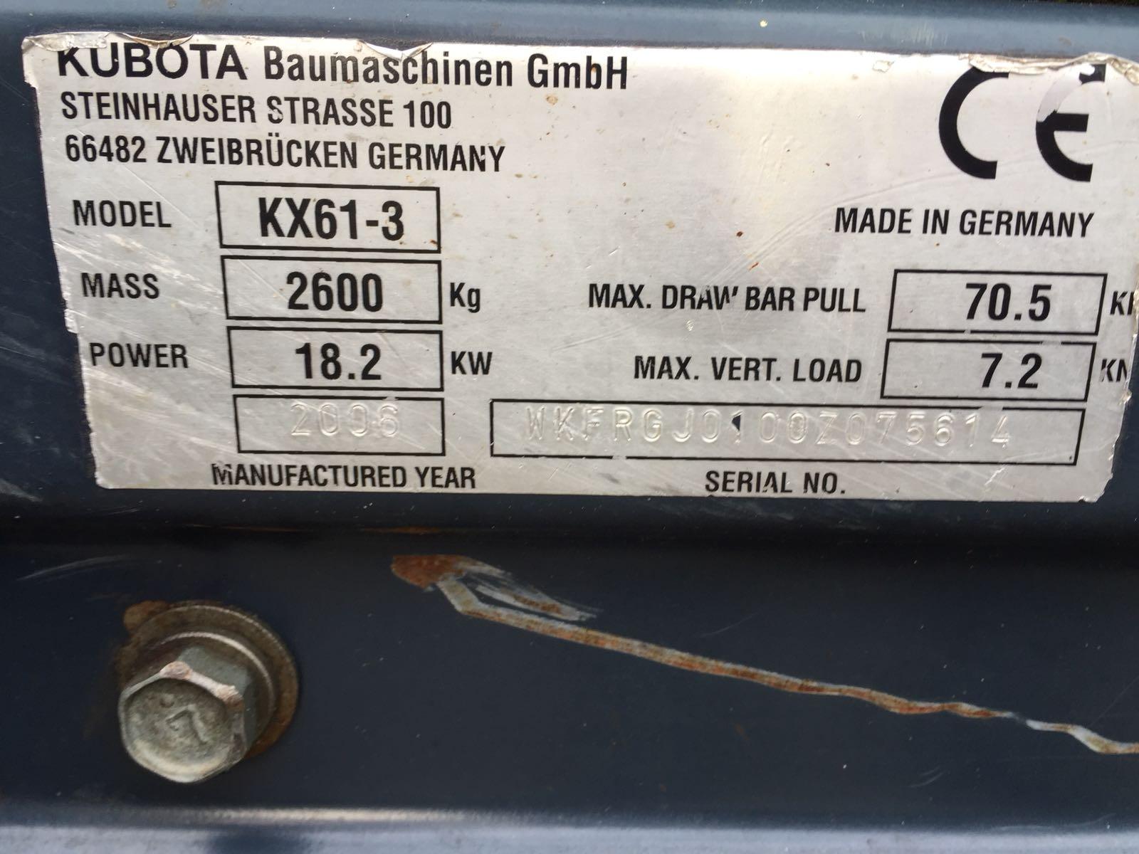 kubota kx61-3 (1)