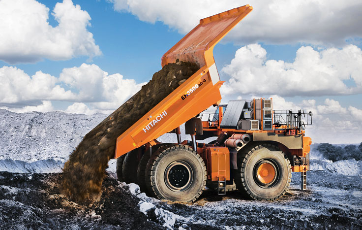 Hitachi, EH3500, rigid dump trucks
